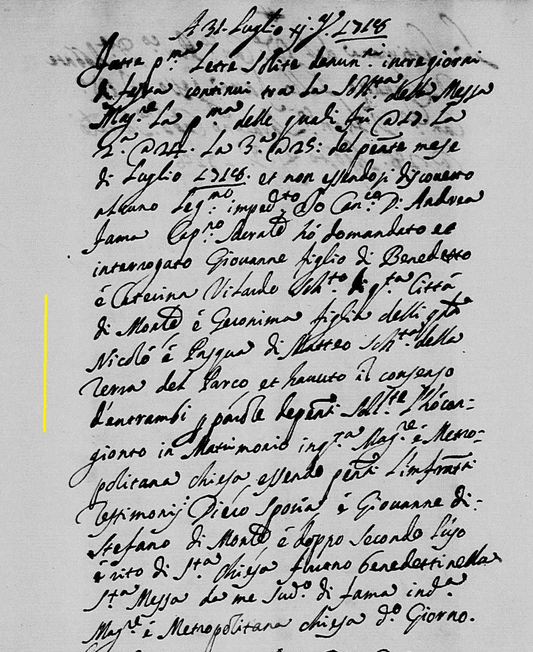 Giovanni Vilardo marriage 1718.jpg