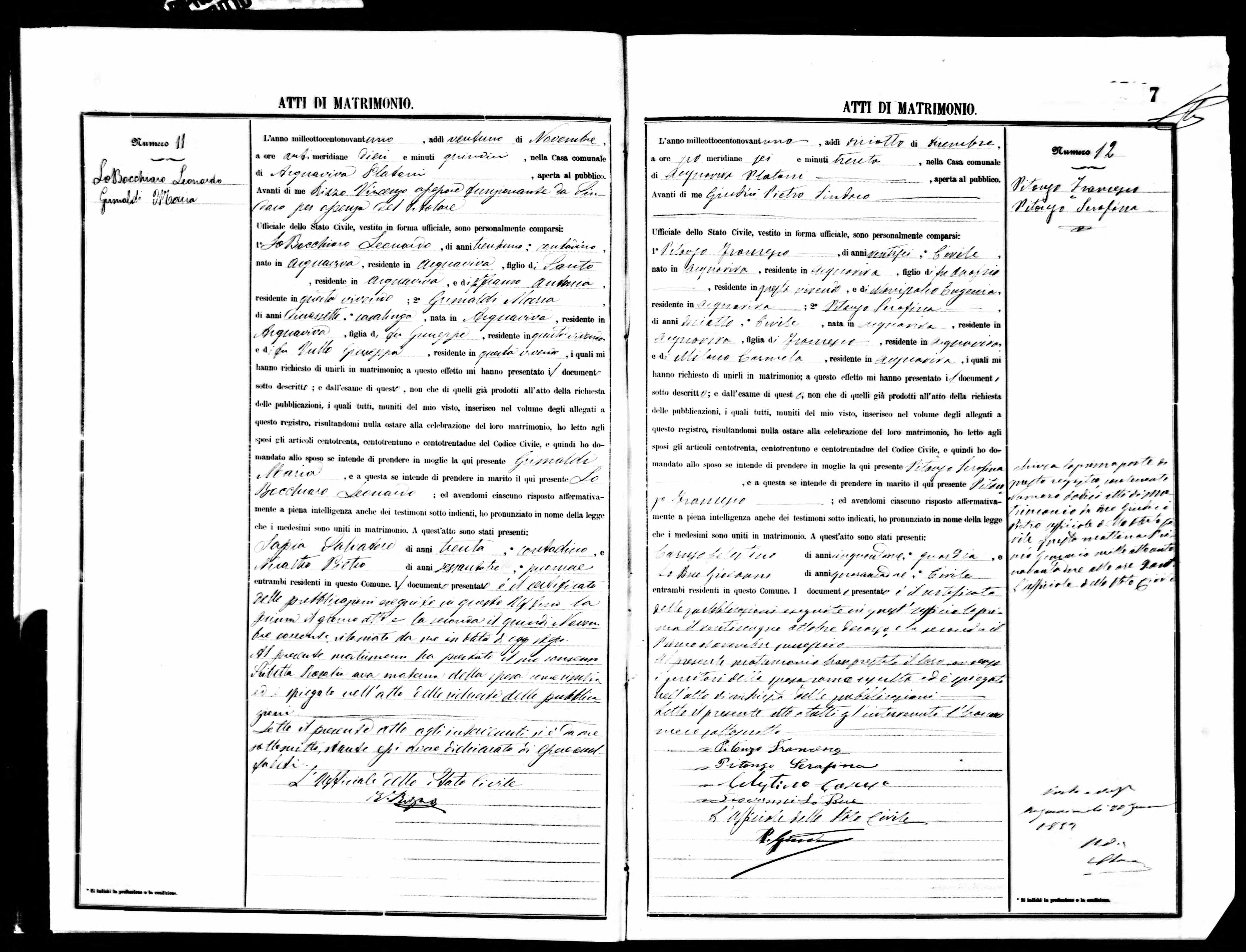 Francesco Pitonzo Marriage Cert-Dec 1891.jpg