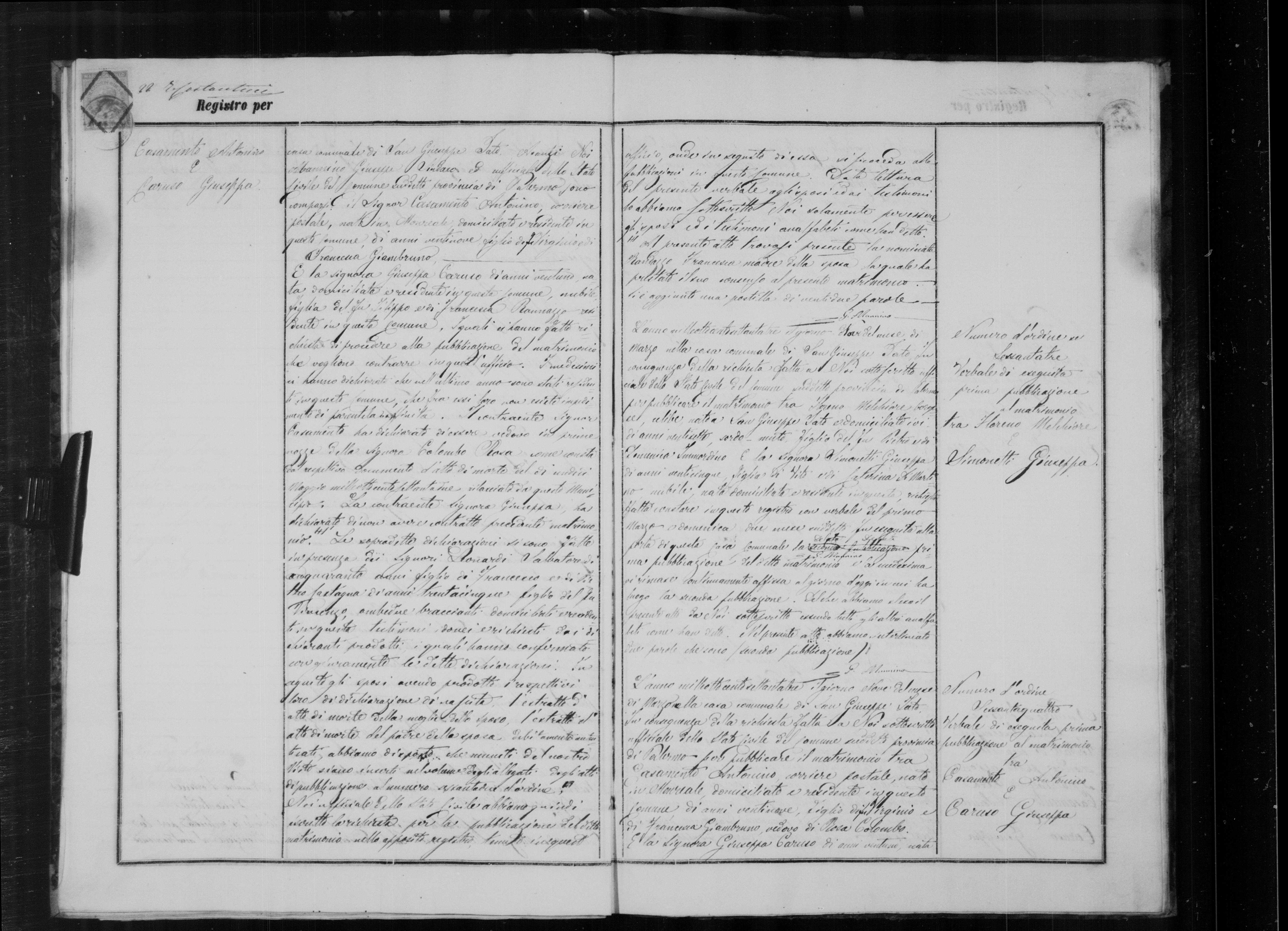 Melchiorre and rosa simonetta marriage record.jpg