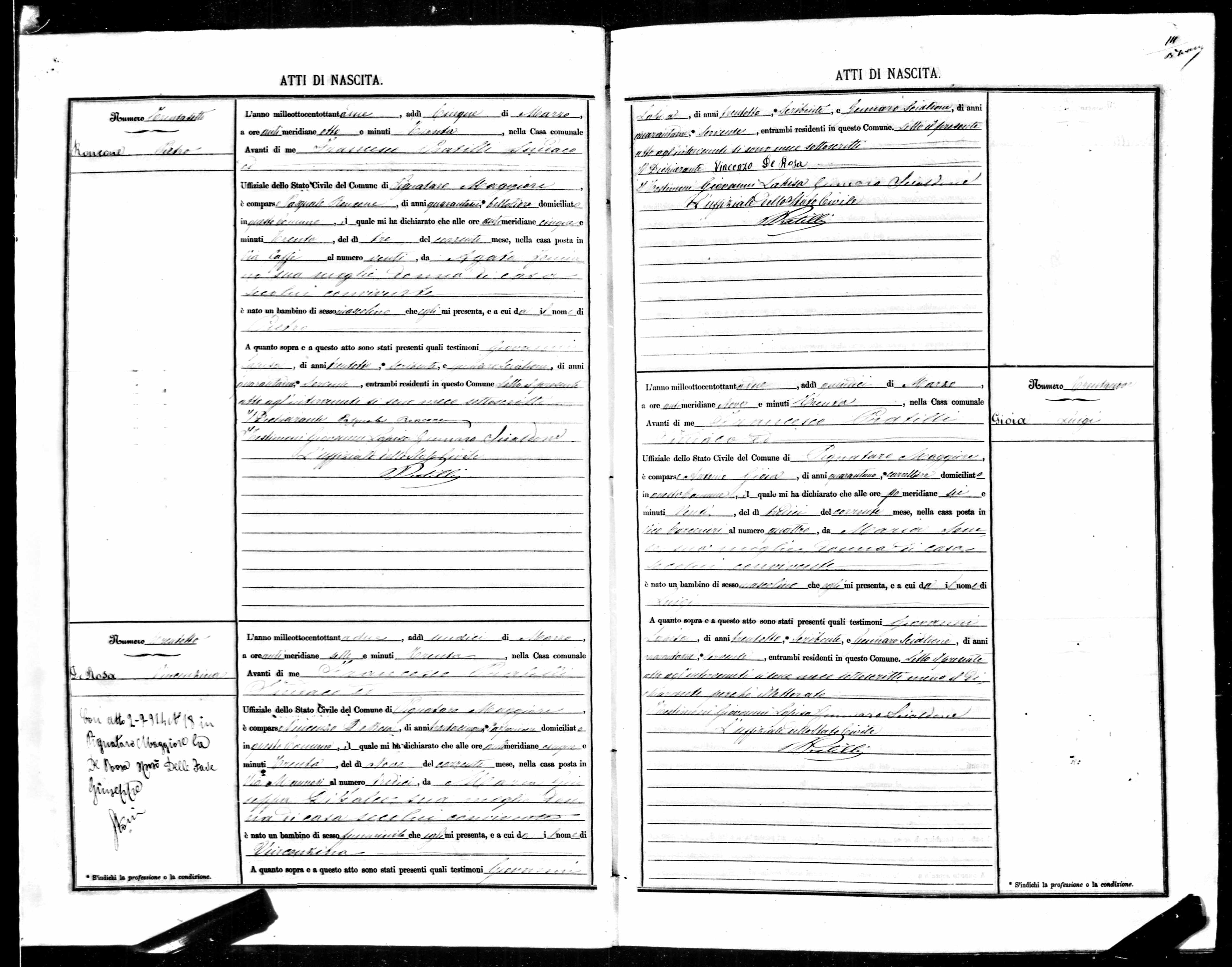 Pietro Roncone Birth Record 1882.jpg