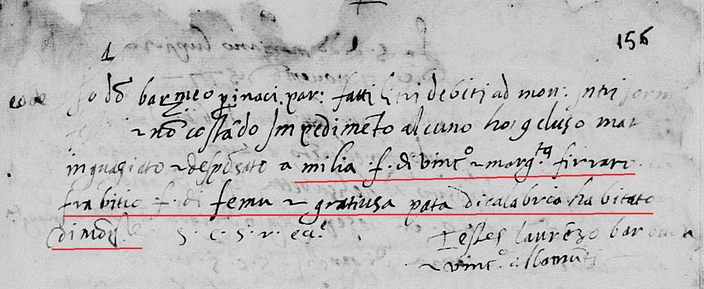 Fabrizo Pata marriage 1577.png