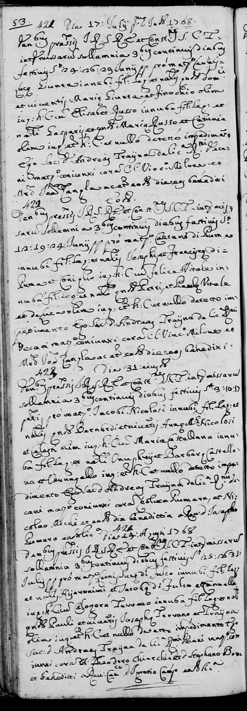 Marriage record of Leoluca DiFulco, 1768.jpg