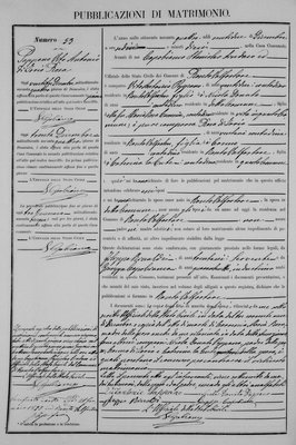 Parents of Nicola Pappano marriage 1894.jpg