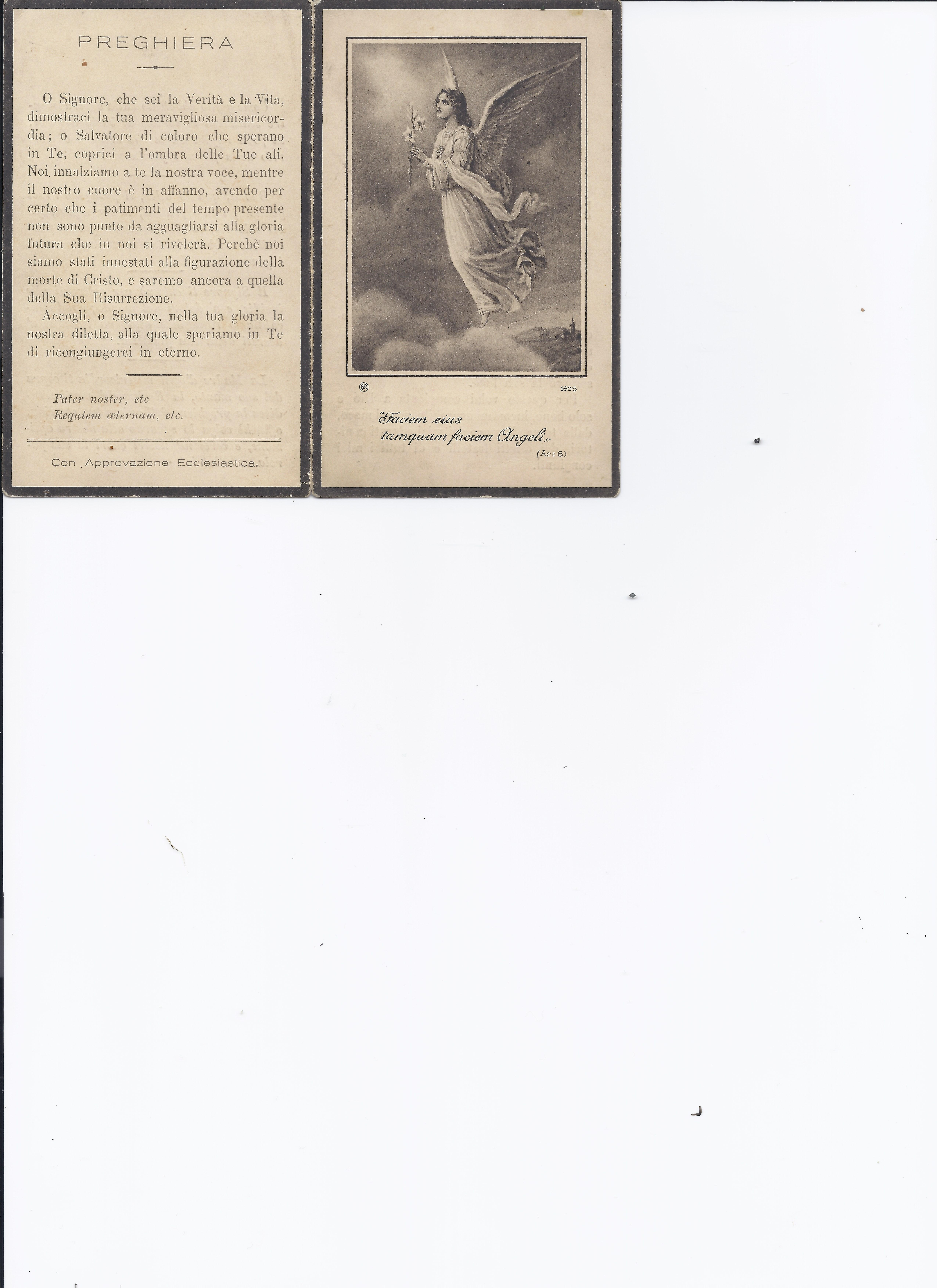 Card found in Grandma's Daily Missal - front and back pages.jpg